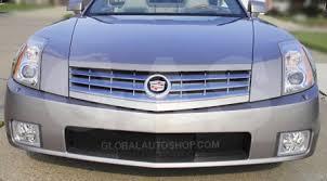 custom cadillac xlr cadillac xlr chrome grill custom grille grill inserts chrome grille