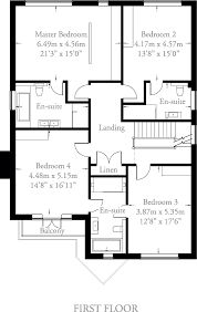 Master Bedroom Ensuite Floor Plans by The White House Nationcrest Plc
