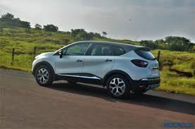 renault captur white interior new renault captur india review price specs mileage image