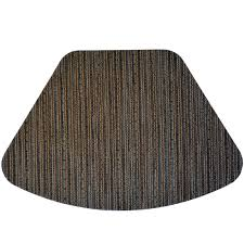 outdoor placemats for round table wedge placemats dark brown and bluewipe clean wedge shaped round