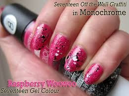 notd boots seventeen gel colour in raspberry woowoo and off the