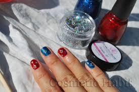july 4 nail art design nail art