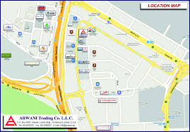 Dubai On Map Arwani Trading