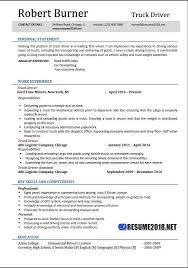 truck driver resume exles truck driving skills for resumes paso evolist co