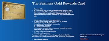 dead american express business gold rewards 75 000 signup bonus