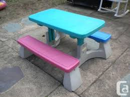 Fisher Price Adjustable Picnic Table Victoria Park Sheppard For