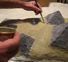 how to make an egyptian diorama part 2