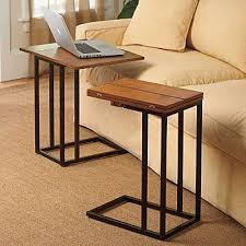 adjustable couch table tray luxury under couch table slide sofa tray tables side tv living room