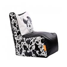 mickey mouse digital printed bean chair filled with beans