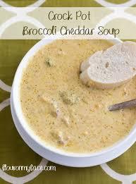crock pot broccoli cheddar soup flour on my face