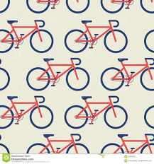 bicycle wrapping paper bicycle seamless background stock vector illustration of design