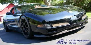 c5 corvette front spoiler apsis lamination wood dashes