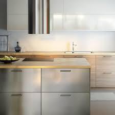 stainless steel kitchen cabinet doors stunning stainless steel kitchen cabinets ikea m33 on home design