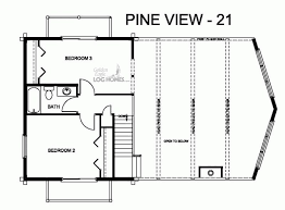 pv plan golden eagle log and timber homes floor plan details pv 21