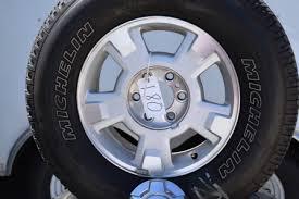 ford f150 rims 17 inch ford f150 6 lug mich ltx at2 17in 3 oem factory wheels rims ford