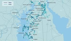 Delaware Zip Code Map by Carrier Network Coverage Atlantic Broadband