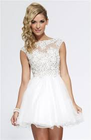7 beautiful white prom dresses to try livinghours