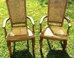 Cane Back Dining Room Chairs Cane Back Etsy