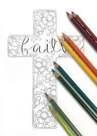 autumn faith cross colored pencil tips u2026