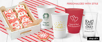 personalized disposable cups the stationery studio