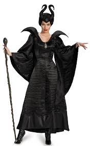 deluxe halloween costumes for women maleficent deluxe christening black gown costume