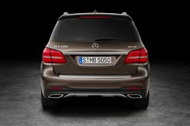 mercedes jeep 2016 red mercedes gls 2016 revealed the gl has a new face and a new