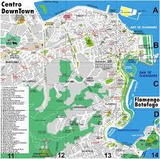 Map Of Rio De Janeiro Rio De Janeiro Map