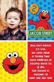 elmo 1st birthday invitations elmo 1st birthday invitations for