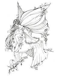 818 best fantasy coloring fairy kingdom images on pinterest