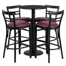 Outdoor Bar Table Set Bar Stool And Table Sets U2013 Thelt Co