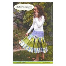 butterfly kisses skirt pattern booklet discount designer