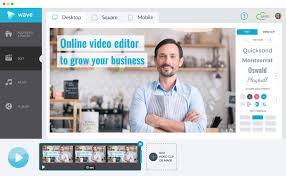 membuat website film online online video editor wave video