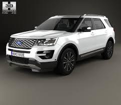 Ford Explorer 2015 - ford explorer u502 platinum 2015 3d model hum3d