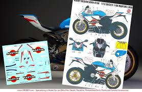 martini design 1 12 ducati 1199 martini racing decals for tamiya hd04 0150