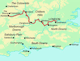 thames river running routes thames path contours walking holidays