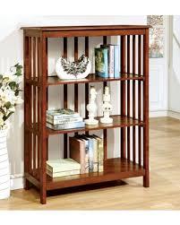 Bookshelf 3 Shelf Bargains On Furniture Of America Bellins Mission Style 3 Shelf