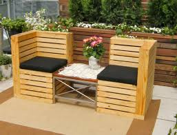 Ideas For Painting Garden Furniture by Pallet Garden Furniture Ideas