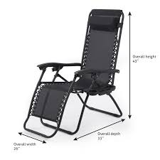 Zero Gravity Patio Lounge Chairs 2pc Zero Gravity Chairs Lounge Patio Folding Recliner Outdoor