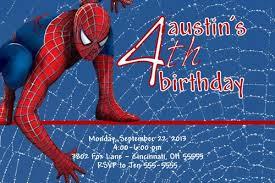 spiderman birthday invitations ideas u2013 bagvania free printable