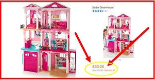 barbie dreamhouse hot clearance barbie dream house only 30