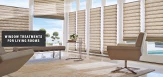 blinds shades u0026 sheers for living rooms total window treatments