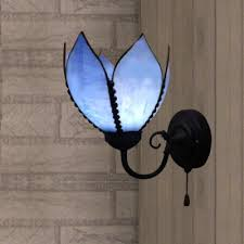 Wall Sconce With Pull Chain Switch Fashion Style Wall Sconces Tiffany Lights Beautifulhalo Com