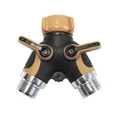 Faucet Attachment For Hose Amazon Com 2 Way Valve Splitter Hose Adapter Spigot Faucet