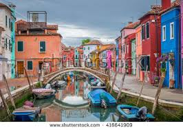 Burano Italy Venice Burano Italy Village Stock Images Royalty Free Images