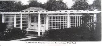 Pre Built Pergolas by Prebuilt Pergolas Sears Modern Homes