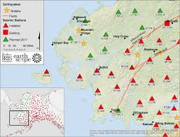 Bethel Alaska Map by Earthquake Monitors Installed Around Bethel Kyuk