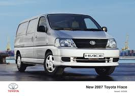 more power new looks for 2007 toyota hiace toyota uk media site