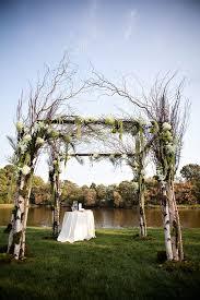 wedding arches chuppa outdoor wedding arch birch mandap wedding arch chuppah