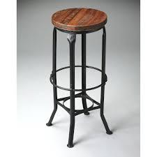 bar stools rustic oak swivel bar stool dazzling outdoor pub