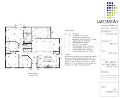 Electrical Plan by A Lovely Family Home By Lauren Vancamp At Coroflot Com